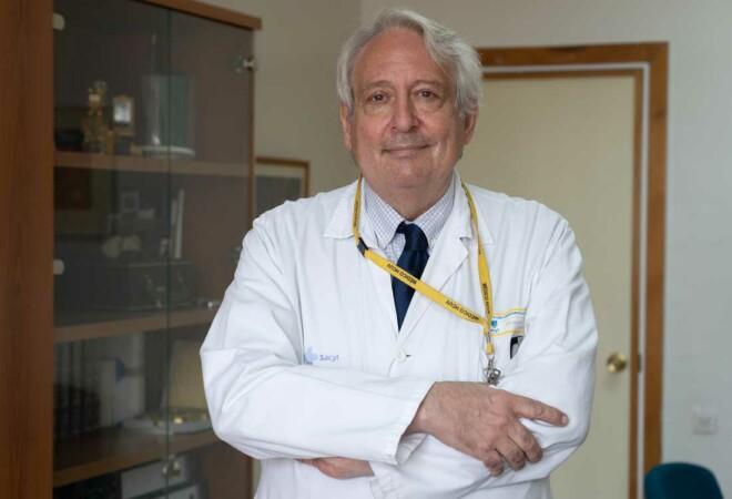 El doctor Fernando de Uribe, jefe del servicio de Psiquiatría del Clínico de Valladolid