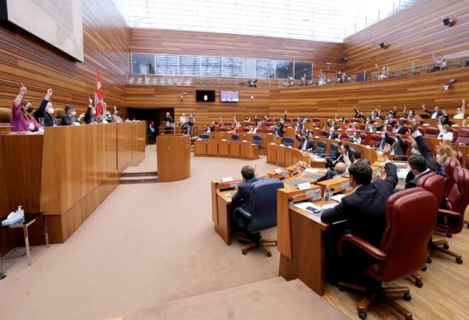 Votación en Las Cortes