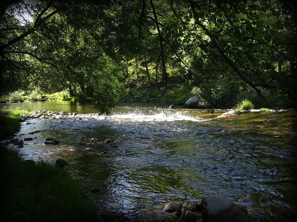 Un río. Foto. Moncho Campos.