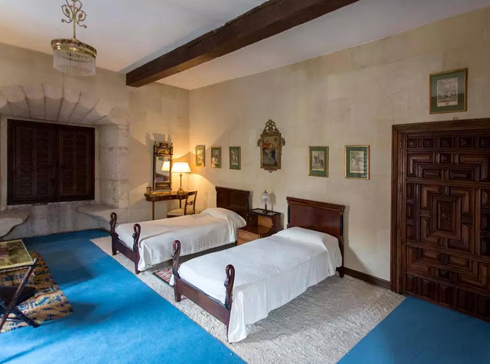 Dormitorio Palacio de Monterrey. Foto. Fundación Casa de Alba.