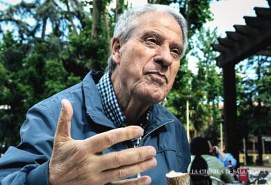 Jesús Málaga, durante la entrevista. Fotos. Almudena Iglesias Martín.