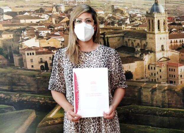 Davinia Montero, concejala de Servicios Sociales del Ayuntamiento de Ciudad Rodrigo.