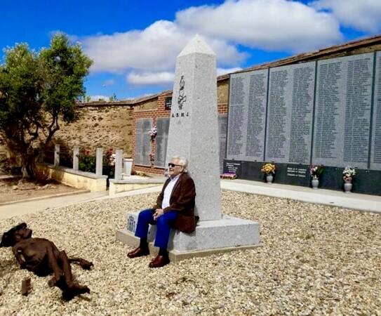 Luis Calvo Rengel. Foto. Asociación Memoria y Justicia de Salamanca
