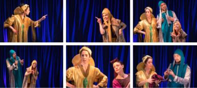 La obra de Teatro Popular de Garrido se podrá vere n el Patio Chico el domingo 13 a las 19.30 horas.