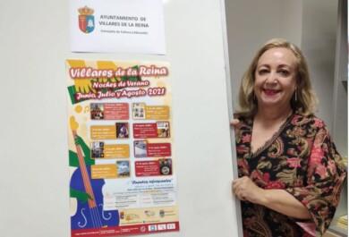 Mª de los Ángeles Giménez, concejala de Cultura y Educación de Villres de la Reina.