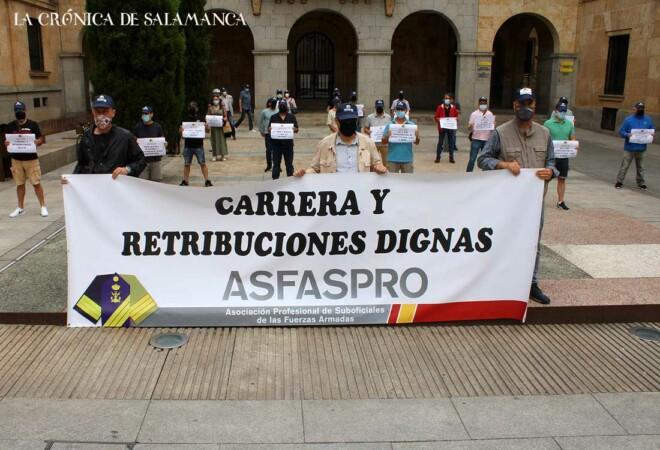 Protesta Fuerzas Armadas