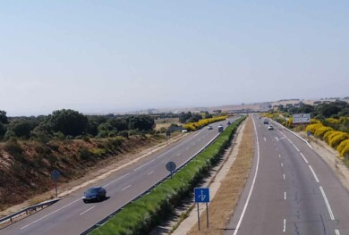 radar trafico guardia civil autovia a66