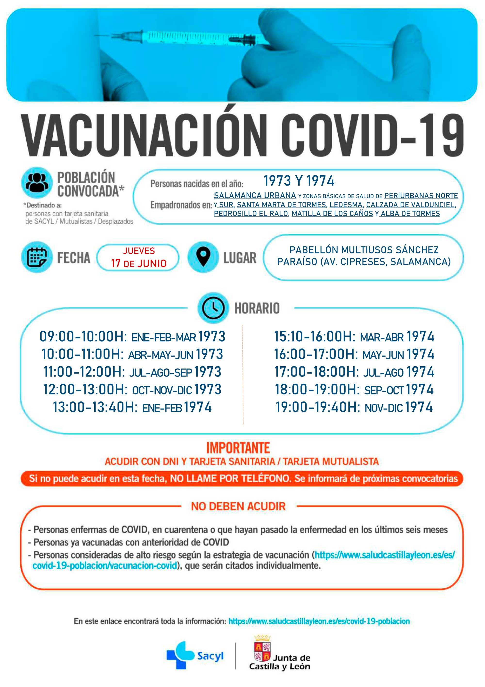 Vacuna 1973 - 1974
