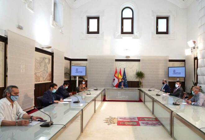Reunión del Diálogo Social