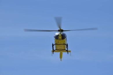 El helicóptero del Sacyl. Foto. Sacyl.