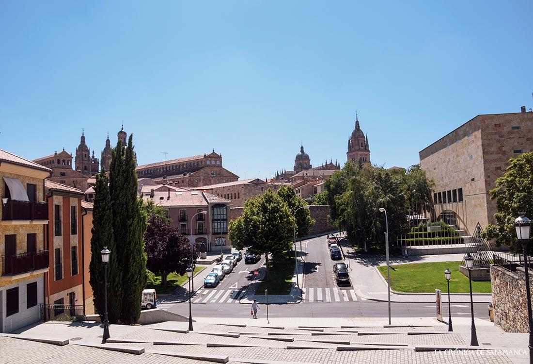 Imagen de La Vaguada de la Plama, antiguamente el Barrio Chino de Salamanca. Foto. Almudena Iglesias Martín.