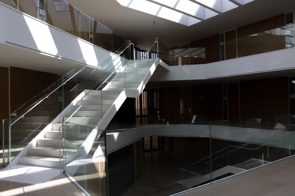 Interior del colegio San Bartolomé, sede de Cursos Internacionales de la Usal.