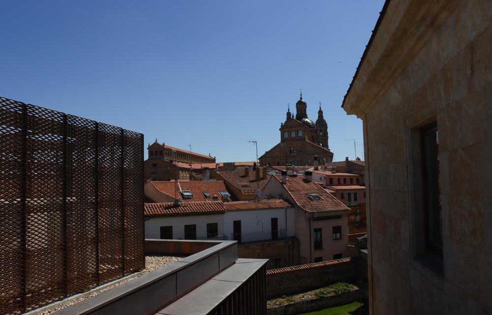 Vistas desde el colegio San Bartolomé, sede de Cursos Internacionales de la Usal.