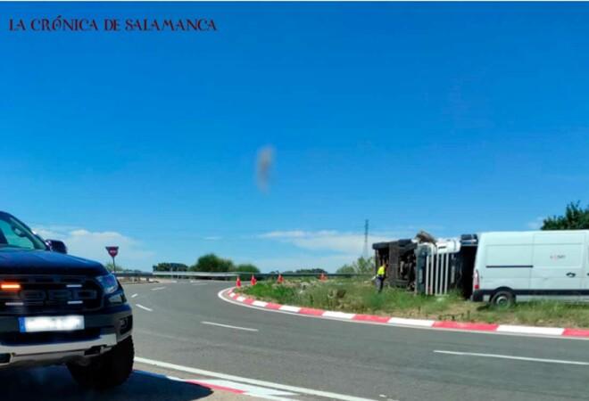 Accidente Camión La Rad