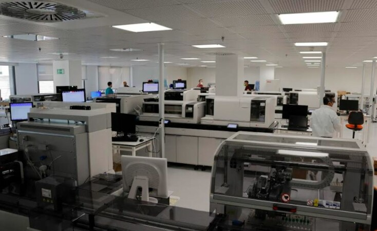 laboratorio unificado nuevo hospital