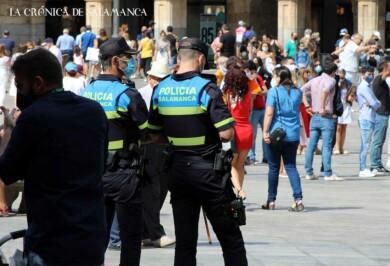 Plaza Mayor - Policía