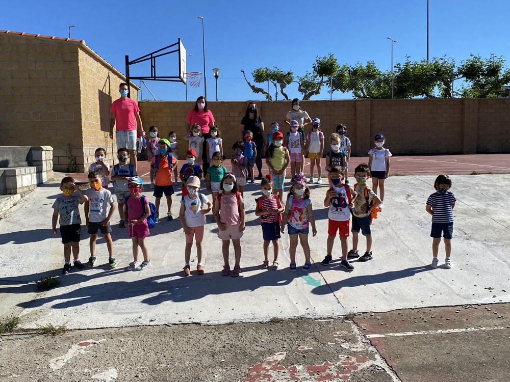 Los menores de Guijuelo disfrutan de actividades culturales, deportivas o sociales.