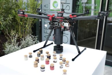 Dron y semillas inteligentes para reforestación
