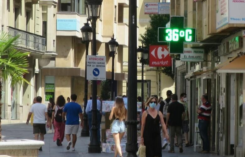 calor 36 grados verano