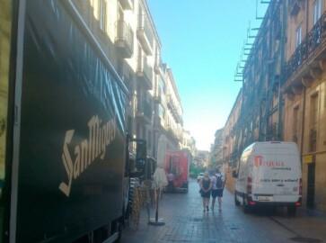 carga descarga rua