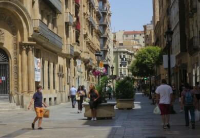 gente calor calle toro el 13 agosto