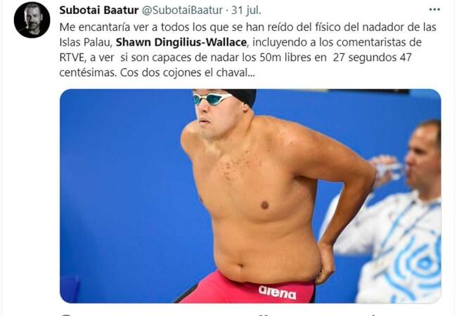 Nadador JJOO