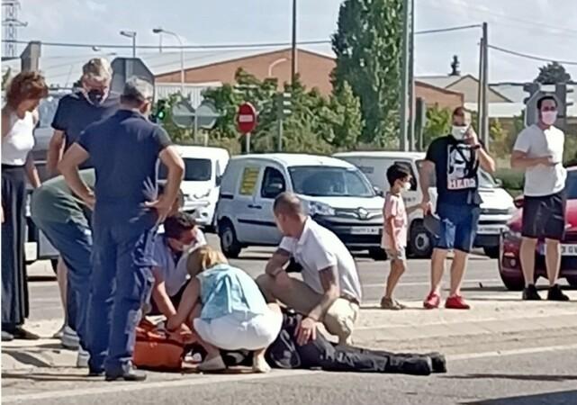 policia municipal valladolid herido accidente ical