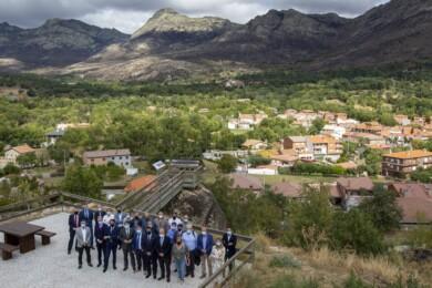 Mauñeco anuncia el plan de recuperación por el incendio de Ávila