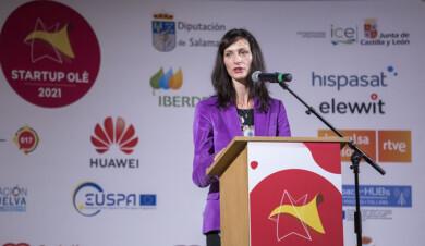 Susana Martín / ICAL . La comisaria de Innovación, Investigación, Cultura, Educación y Juventud, Mariya Gabriel en la VII edición de Startup OLÉ