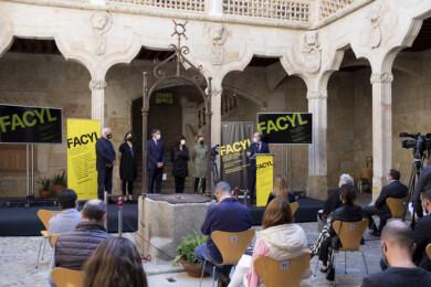JESÚS FORMIGO / ICAL. Presentación del Festival FACYL en la Casa de las Conchas.