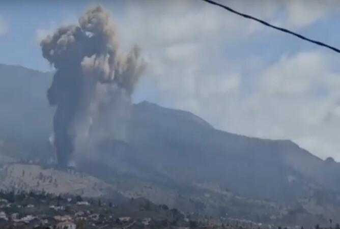 Erupción Cumbre Vieja