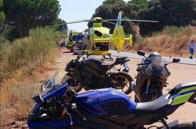 cebreros accidente moto