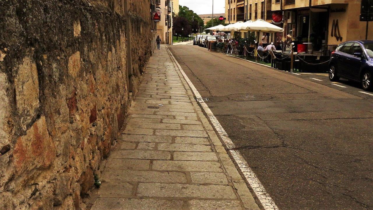 La calle Ancha. Foto. Comité Antinuclear y Ecologista de Salamanca.