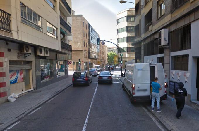 La calle Álvaro Gil. Foto. Google Maps.