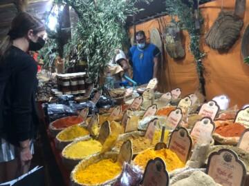 El Mercado Histórico está instalado en La Vaguada de la Palma.