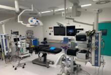 Uno de los quirófanos del nuevo hospital.