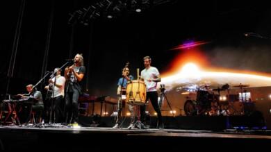 Izal ofrece el primer concierto de las No Ferias y Fiestas de Salamanca.