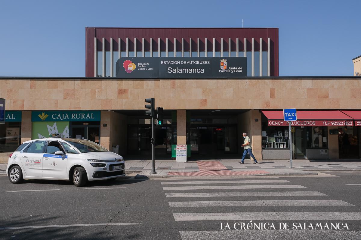 Estación de autobuses de Salamanca.