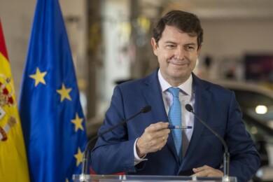 Susana Martín / ICAL . El presidente de la Junta de Castilla y León, Alfonso Fernández Mañueco,