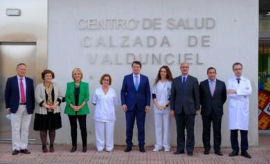 centro salud calzada valdunciel ical