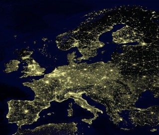 Europa iluminada