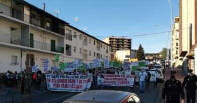 Manifestación Sanidad en Béjar