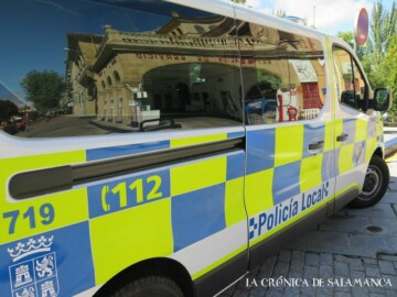 policia local furgoneta