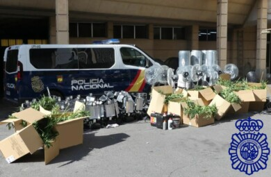 policia nacional droga