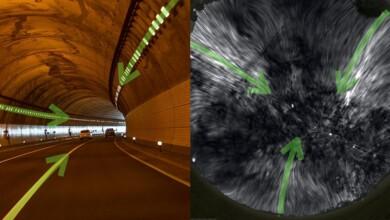 Túnel magnético Instituto Dunlap