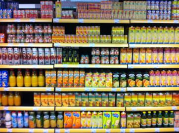 Zumos supermercado
